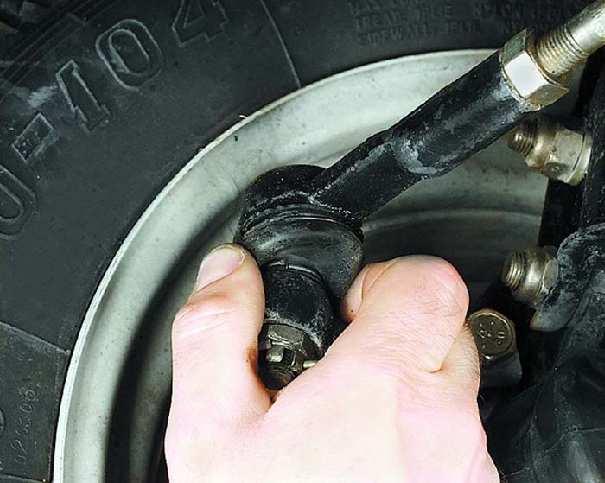 Проверка рулевого управления