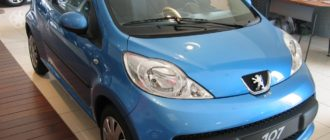 Peugeot 107- советы покупателю