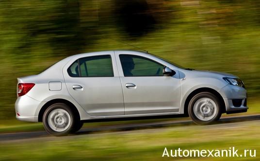 Кузов автомобиля Renault Logan