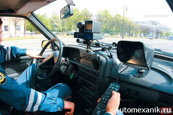 Автомобили ГИБДД оснащены видеокамерами