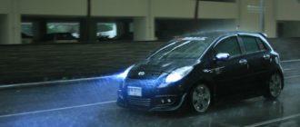 Как управлять автомобилем на мокрой дороге