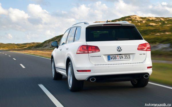 Volkswagen Touareg - отличный внедорожник