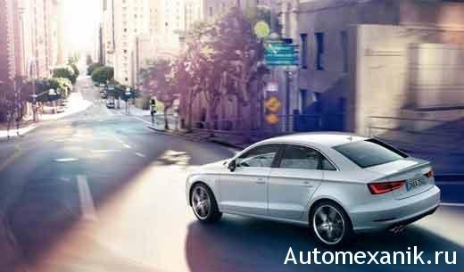Седан Audi A3 для России