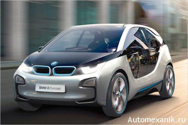 BMW i3 во Франкфурте