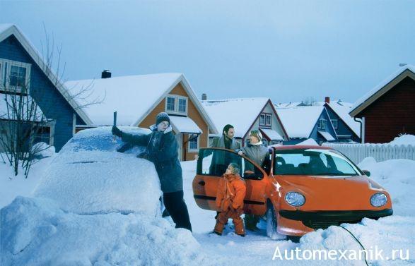 Как отогреть машину зимой