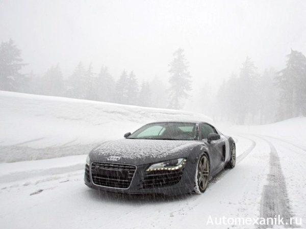Правила вождения на зимней дороге