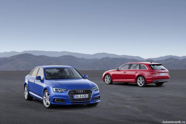 Audi A4 нового поколения